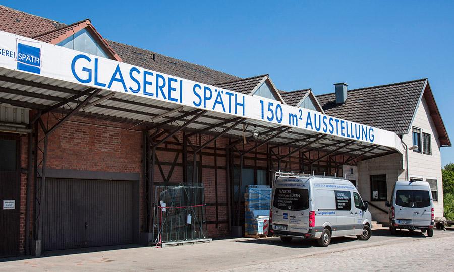 Glaserei Späth - Firmengebäude Coburg