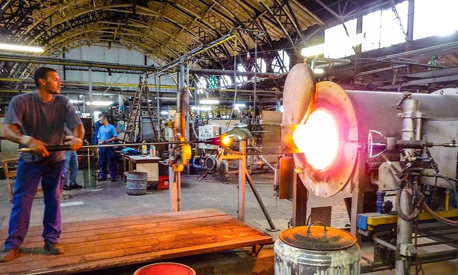 Glaserei Späth Glashütte-Lamberts Produktion