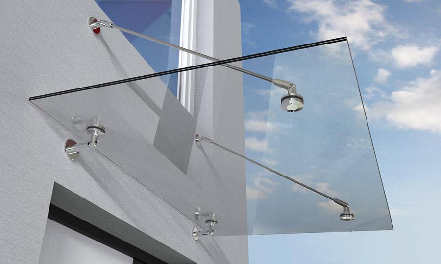 Glasvordächer lassen Sie nicht im Regen stehen