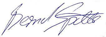 Signatur Bernd Späth