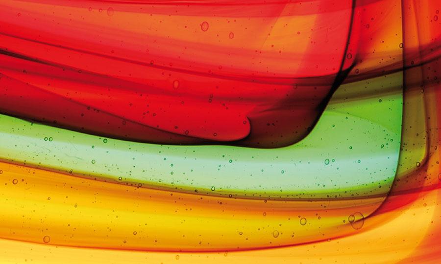 Glashuette-Lamberts farbiges Glas