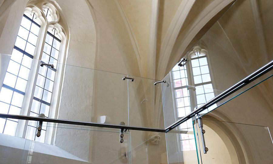 Spaeth-Glaserei Eingang-Morizkirche - Qualität und Sicherheit